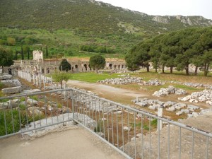 The agora of Ephesus